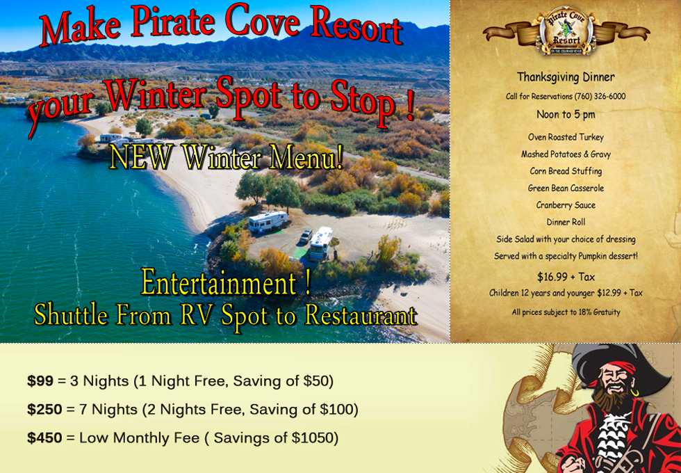 Pirate Cove Spcial Package
