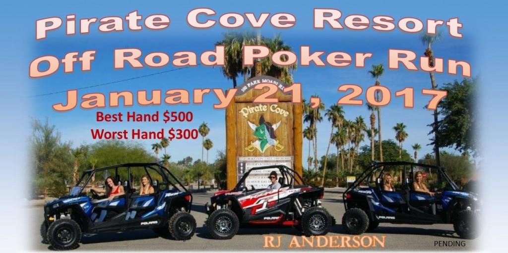 Sunset cove poker run