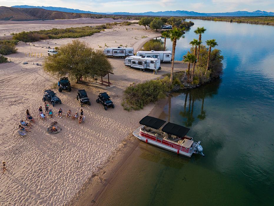 Camping Pirate Cove Resort