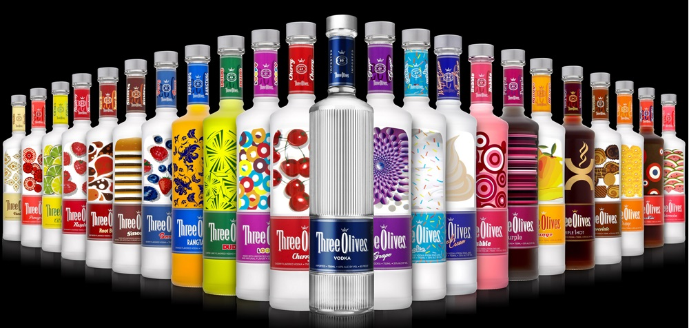 Three Olives Vodka