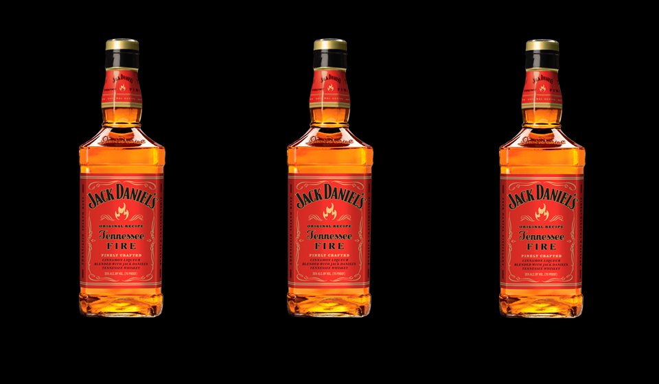 jack daniels tennessee fire whiskey